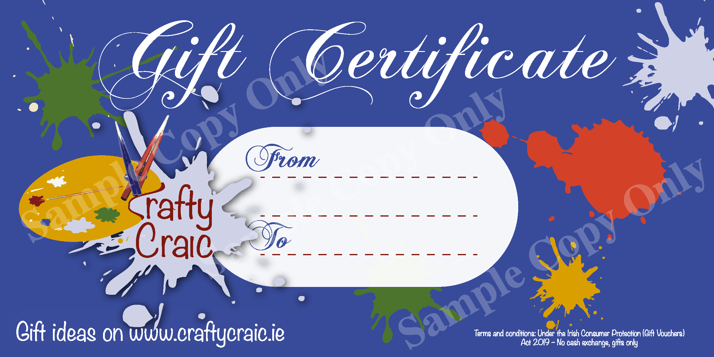 Crafty Craic Gift Voucher
